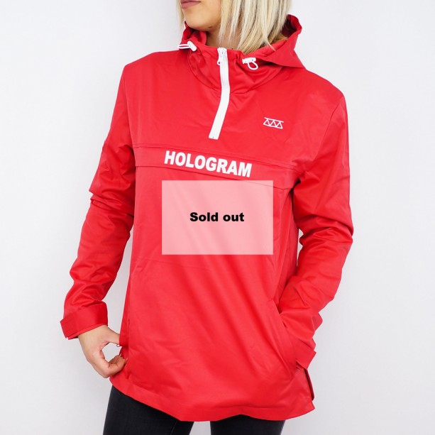 Coupe vent Hologram Rain red