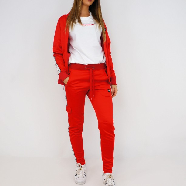 Ensemble Hologram Structure red