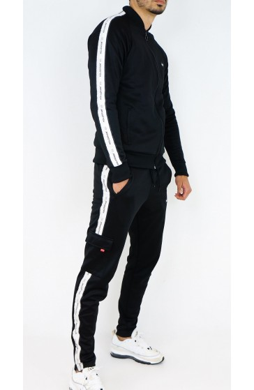 Hologram Structure black Tracksuit
