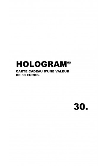 Hologram Gift Card 30€