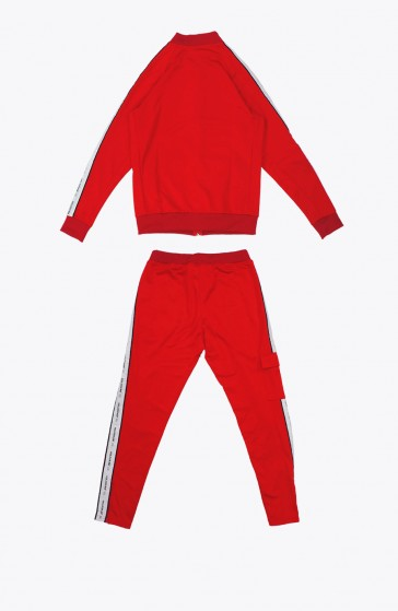 Structure red Tracksuit