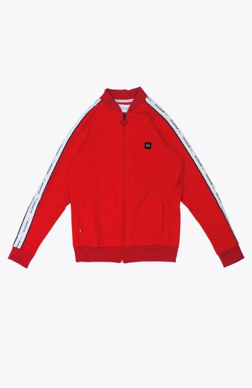 Veste Structure red