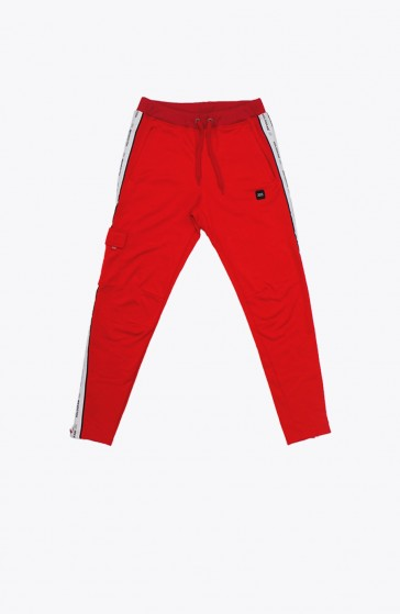 Pantalon Structure red