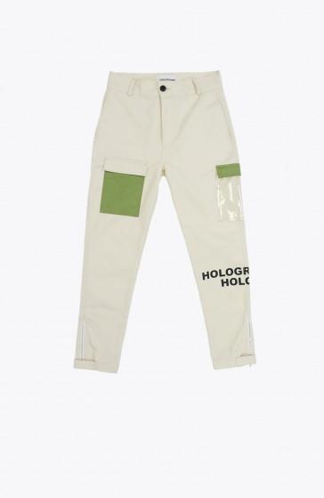 Pantalon Grid beige