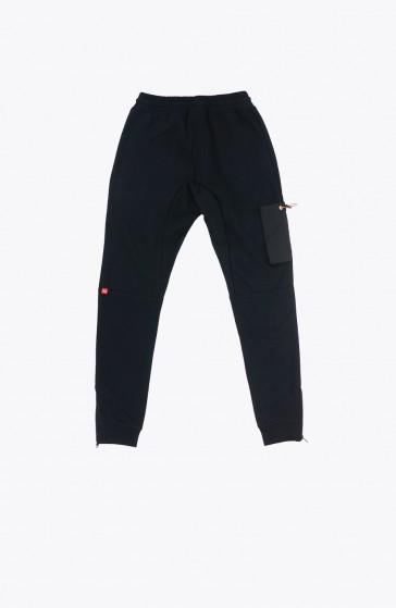 Black Ruffle Pant