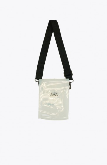 Hazy white Satchel