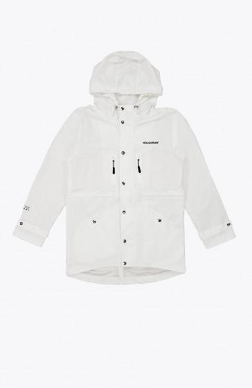 Rain coat white