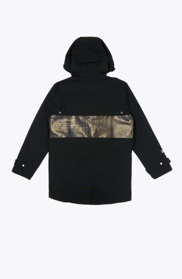 Rain coat black