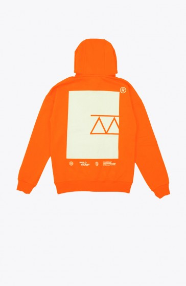 Hoodie Icon orange