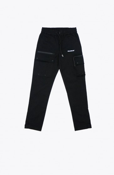 Pantalon Cargo black