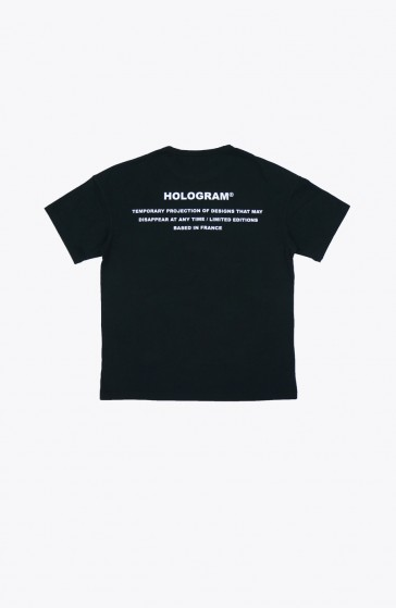 T-shirt Stamp black