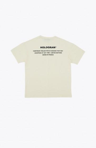 Stamp beige T-shirt
