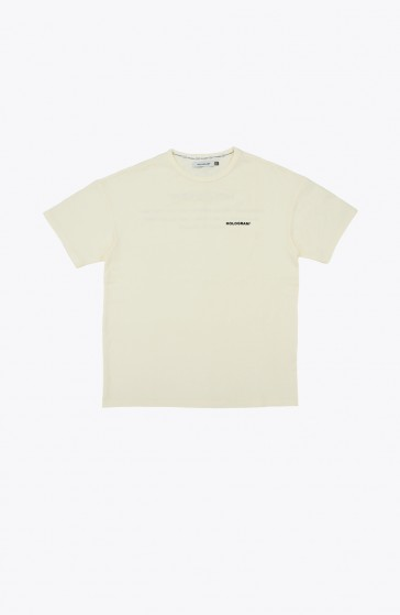 T-shirt Stamp beige