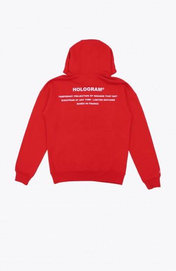 Hoodie Stamp red