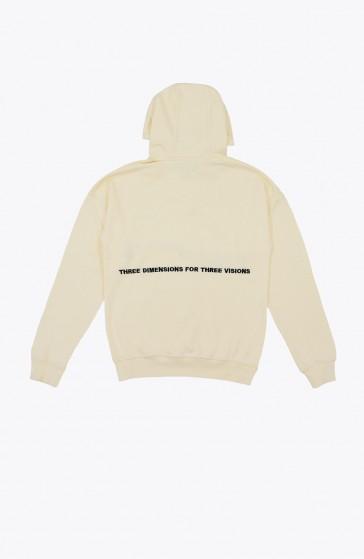 Hoodie Screen beige