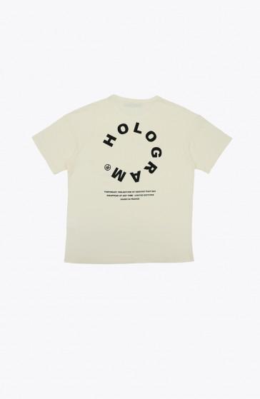 Circle beige T-shirt