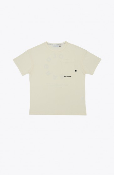 T-shirt Circle beige