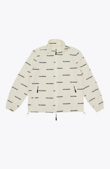 All over beige Jacket