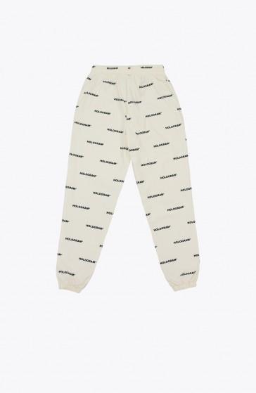 Pantalon All over beige