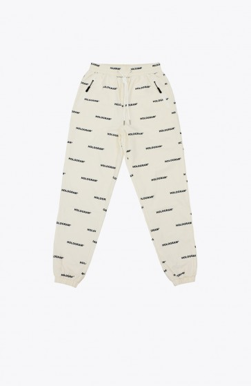 All over beige Pant