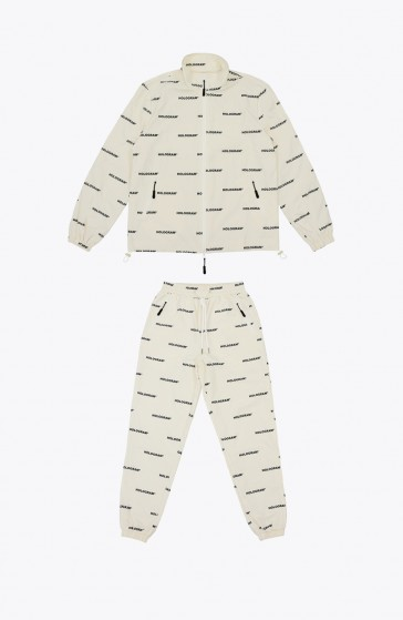 All over beige Tracksuit