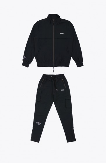 Whole black Tracksuit