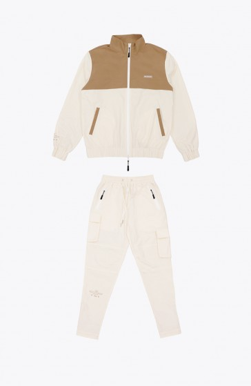 Whole beige Tracksuit