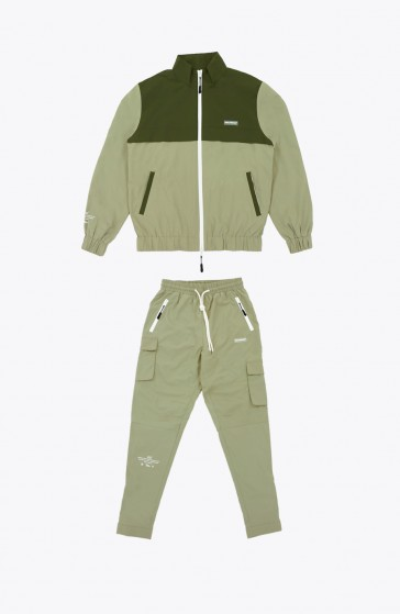 Whole kaki Tracksuit