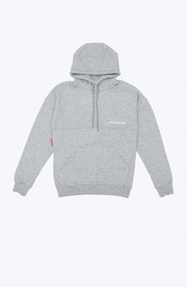 Hoodie Felt grey