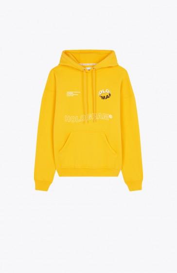 Wave yellow Hoody