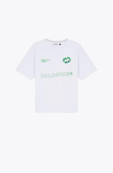 T-shirt Wave white