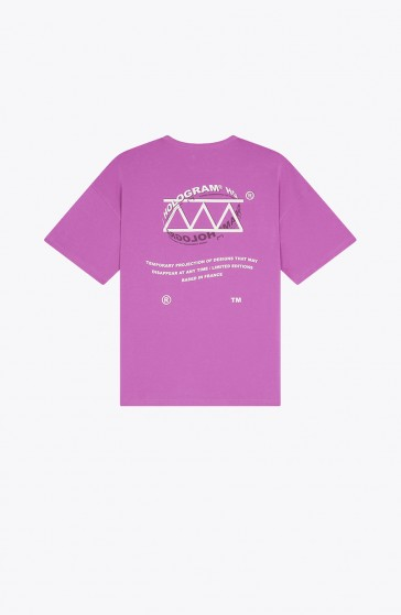 Sphere purple T-shirt