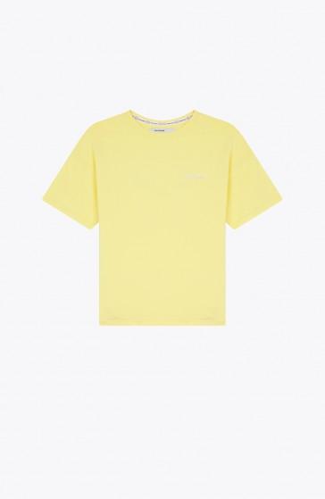 T-shirt Sphere yellow