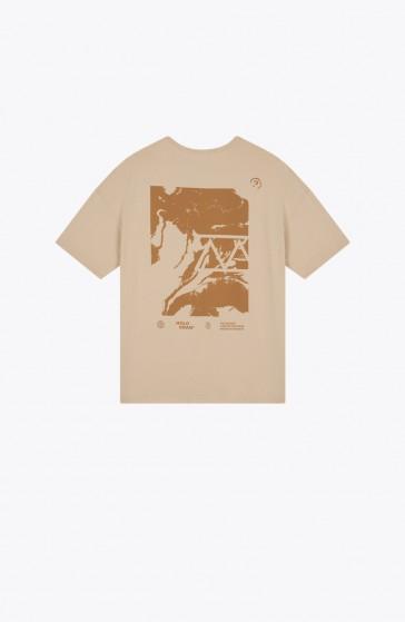 T-shirt Rift brown