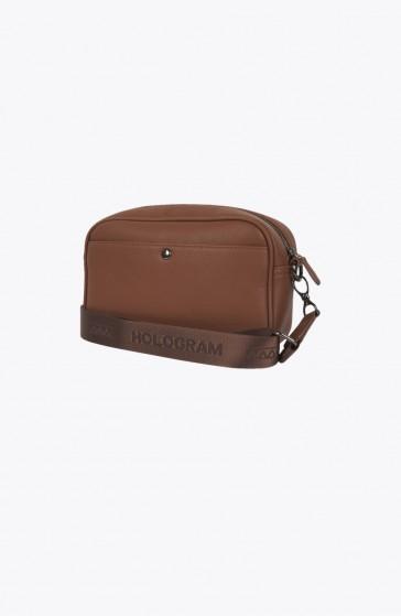 Hide brown Satchel