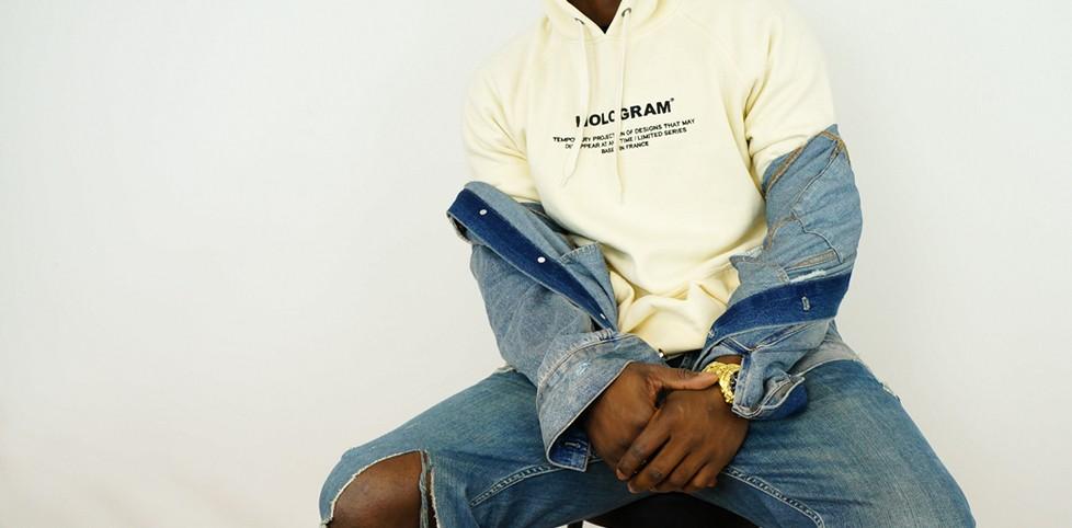 Sweat shirt Hologram Minimal